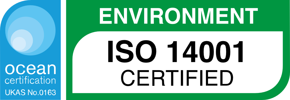 ISO 14001 Certified   Environment   Precision Engineering   Bespoke CNC Machining   Bespoke Engineering North East   Ion Precision