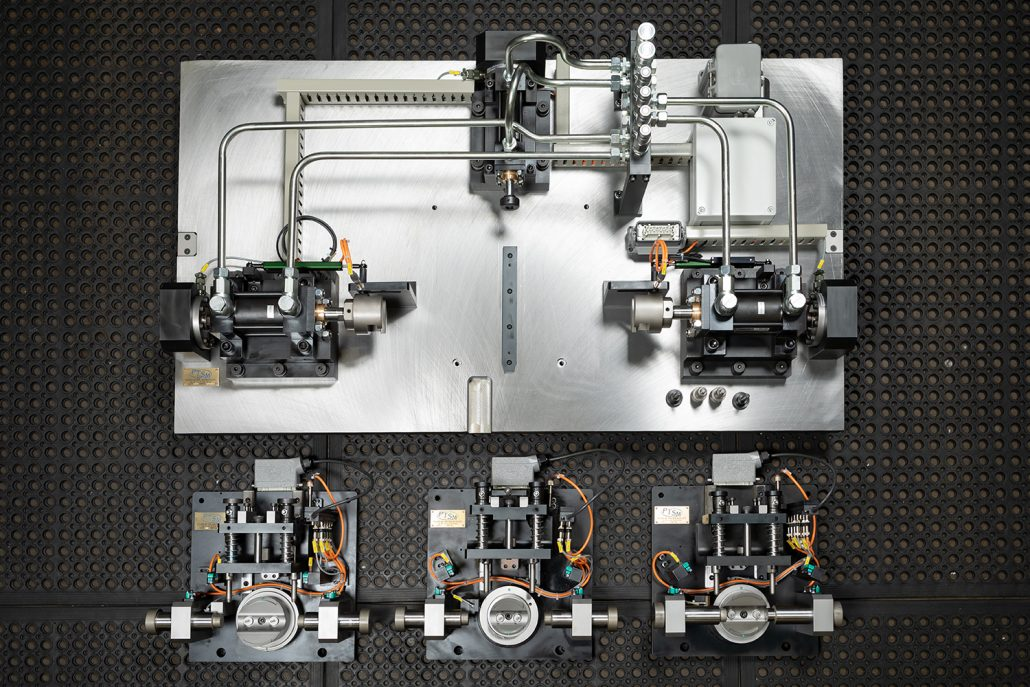 Automated Pressing Jig | Automotive | Bespoke CNC Machining North East | Ion Precision Engineering