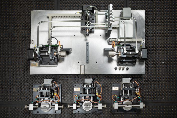 Automated Pressing Jig   Automotive   Bespoke CNC Machining North East   Ion Precision Engineering