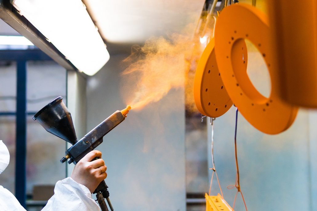 Powder Coating | Outsourcing | Manufacturing North East | Ion Precision