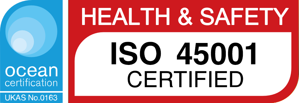ISO 45001 Certified   Health and Safety   Machining North East   Manufacturing   Design Engineering   Ion Precision