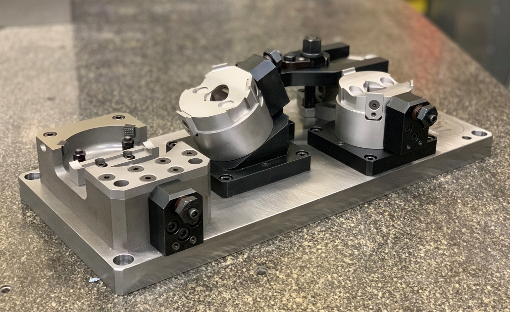 GT Butterfly Machining Fixture | CNC Machining North East | Toolmaking | Ion Precision