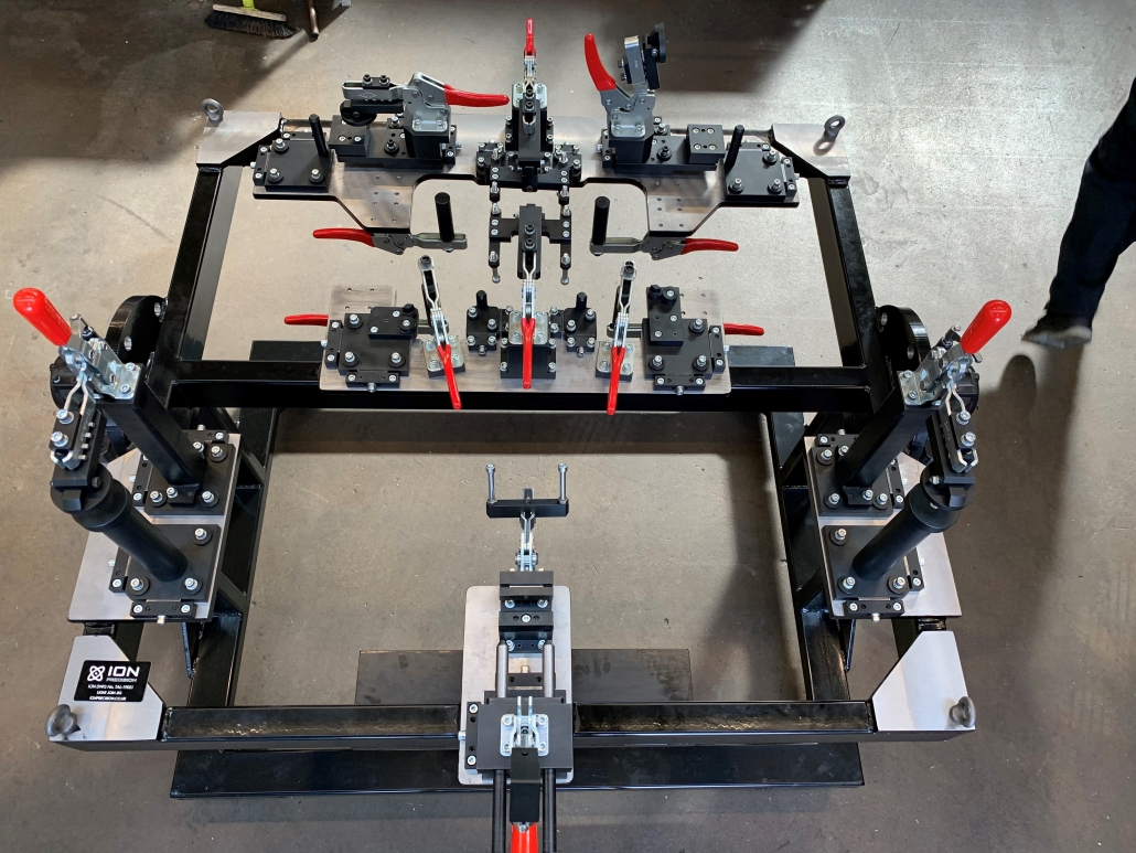 Chassis Jig | Automotive | Bespoke Engineering | Ion Precision Engineering