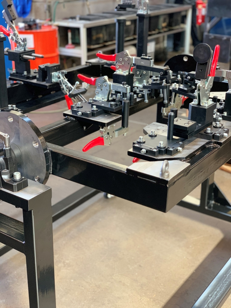 Chassis Jig | Automotive | Bespoke CNC Machining | Ion Precision Engineering